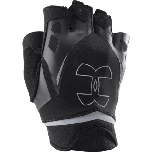 UA Flux Half-Finger Training Gloves Black