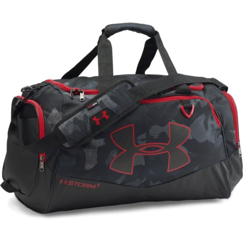 UA Storm Undeniable II MD Duffle Bag, Black/Graphite