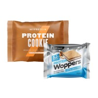 Proseries Protein Cookie 85g + Гратис Protein Woppers 25g chocolate milk