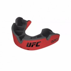 Opro Self-Fit UFC Silver Youth штитник за заби, црвен/црн