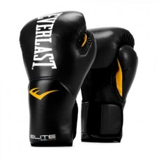 Elite Pro Style Training Gloves, Black