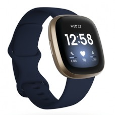 Fitbit Versa 3, Midnight/Soft Gold