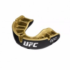 Opro Self-Fit UFC Gold Youth штитник за заби, црна метал/златна
