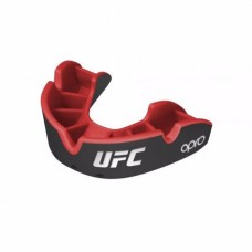 Opro Self-Fit UFC Silver Youth штитник за заби, црн/црвен