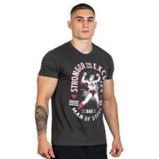 Hero Core T-shirt, Superman, Stronger Then Your Excuses