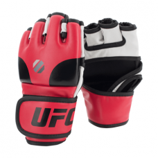 UFC Contender Open Palm MMA Training Gloves, Red