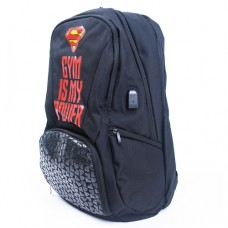 Superman Gym is My Power, Meal Cooler Backpack