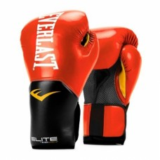 Elite Pro Style Training Gloves, Red