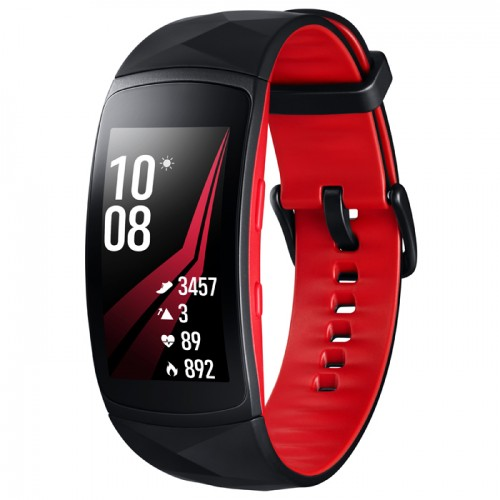 Samsung Gear Fit2 Pro, Black/Red
