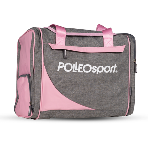 Polleo Sport Posh Workout Bag, Melange/Rose